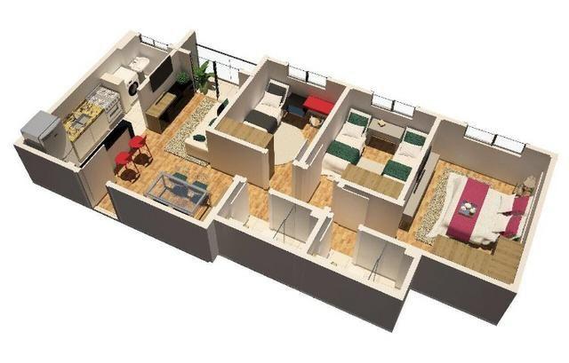 Apartamento com suite e varanda no Paraiso! - Foto 12