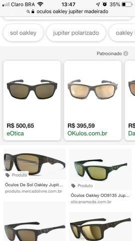 048373bcc81e8 Óculos De Sol Oakley Jupiter Squared Madeira Polarizado - NYC
