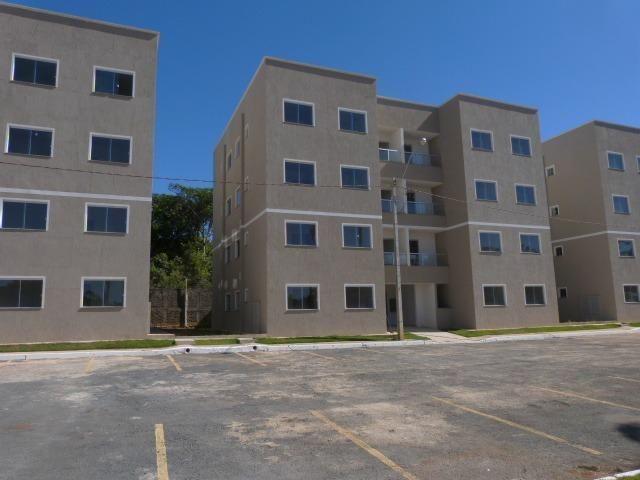 Apartamento de 2 quartos em condomínio fechado á venda na Cidade Ocidental - MCMV