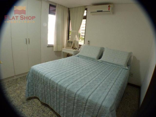 Apartamento residencial à venda, meireles, fortaleza. 3 dormitórios, condomínio com 2 vaga - Foto 15