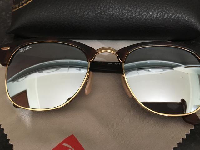d8975f021 PROMOÇÃO! Óculos de Sol Ray-Ban Clubmaster Espelhado - Bijouterias ...