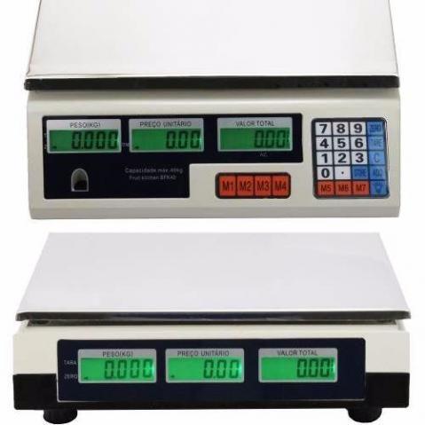 Balança Digital 40kg Bivolt Alta Precisão Aceitamos Cartão Envio No Dia