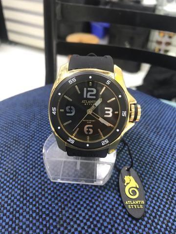 6d96da5c839 Lindos relógios original Atlantis femininos e masculinos! Resistente à água!
