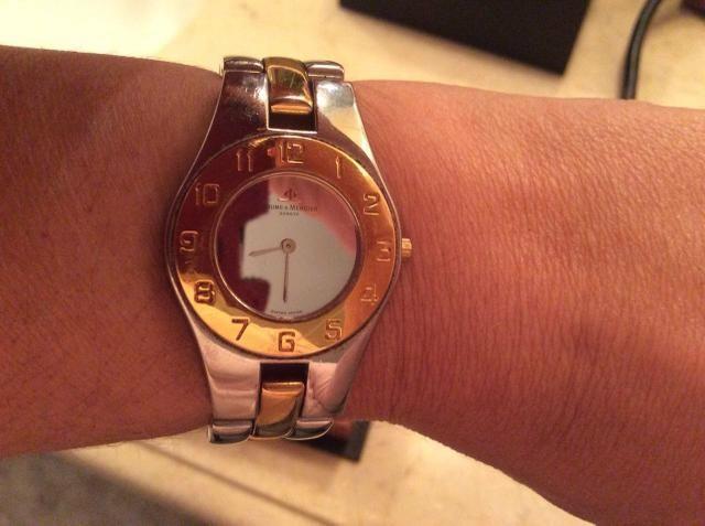 eb61106b01a Relógio Baume   Mercier Geneve - Bijouterias