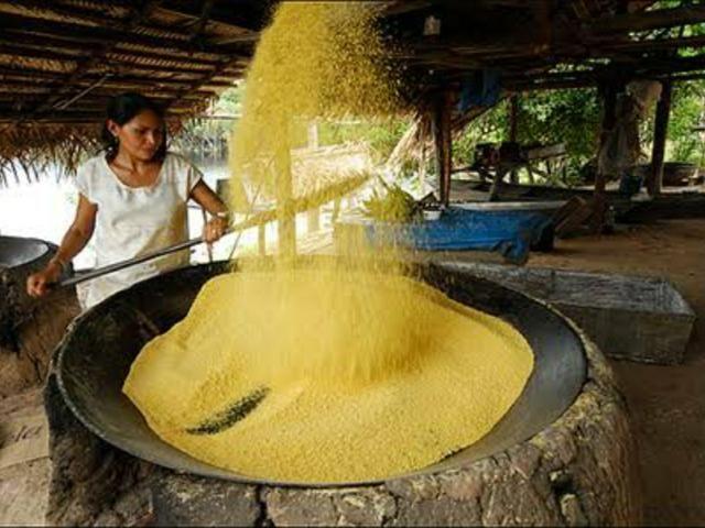 Farinha de Mandioca branca copioba e amarela