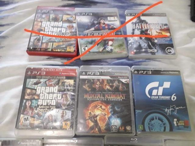 Jogos de ps3 (valor negociável) é também vendemos em unidades em 1 jogos não só o conjunto - Foto 2