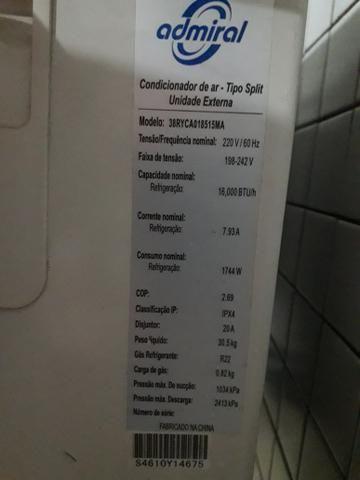 Ar Condicionado Split - 16.000 Btu's - Foto 2