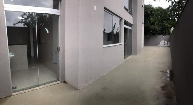 Aluga-se apartamento primeira moradia, quintal, prox futuro hospital universitário - Foto 3