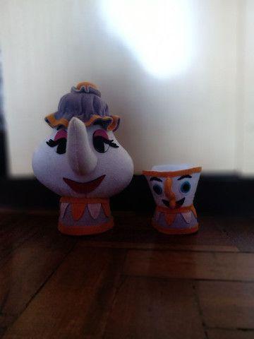 Bonecos da Bela e a Fera - Foto 2