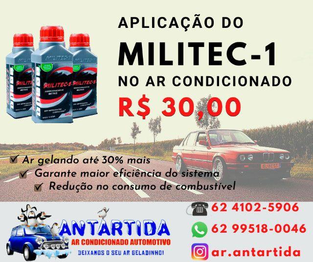 Aplicação de Militec - R$ 30,00