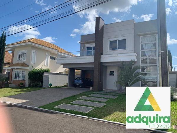 Casa em condomínio com 4 quartos no Condomínio Veneto - Bairro Oficinas em Ponta Grossa