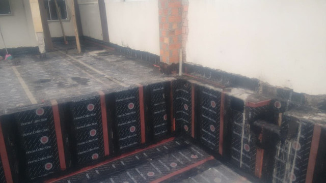 Impermeabilizações, telhados e terraços, aplicação manta asfaltica - Foto 5