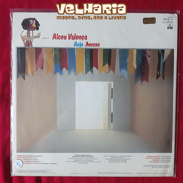 Alceu Valença - Anjo Avesso (LP) - Foto 2