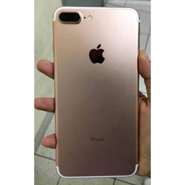 IPhone 7 Plus 32gb rose com acessórios novo
