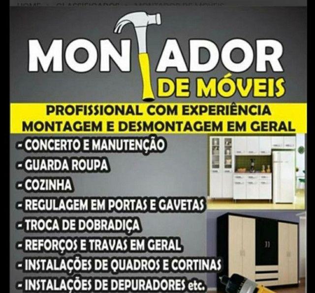 Serviço especializado de montagem de móveis