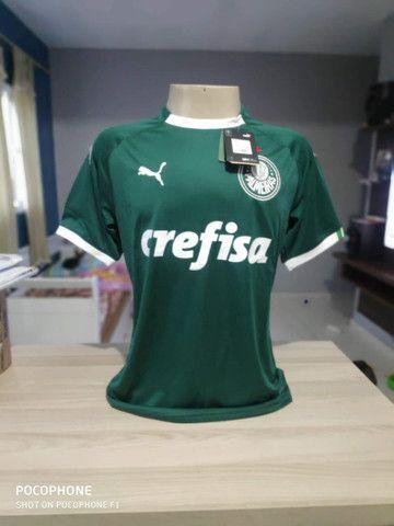 Camisa do Palmeiras Tam P e G verde Masculina nova na etiqueta sem uso