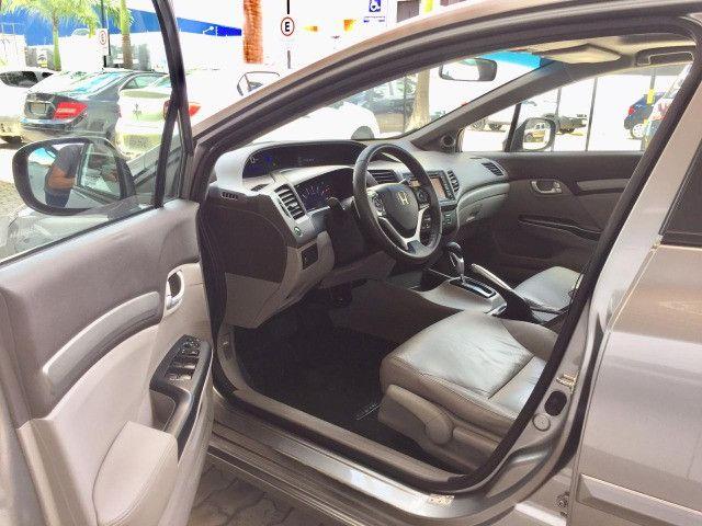 Honda Civic EXS 2013 1.8 Automático - Com Teto Solar - Foto 9