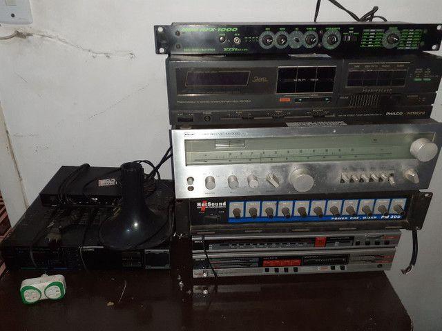 Amplicadores, Receivers e alto falante  - Foto 3