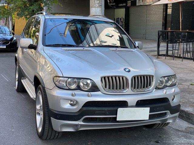 BMW X5 4.4 SPORT  TOP V8 ÚNICO DONO