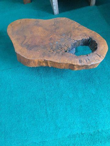 Mesa de centro raíz natural - Foto 3