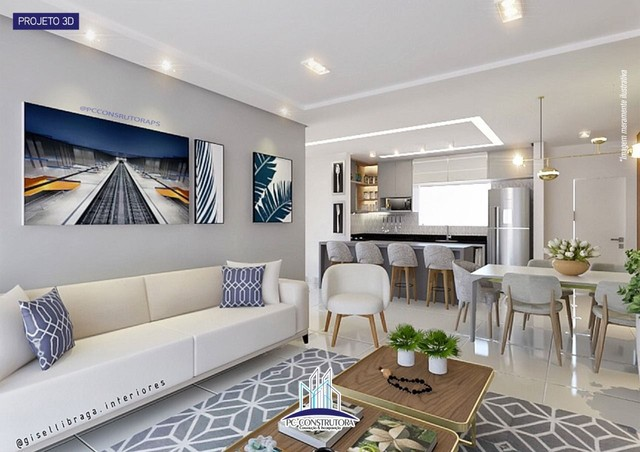Apartamento com 3 dormitórios à venda, 115 m² por R$ 535.000 - Praia do Mutá - Porto Segur - Foto 3