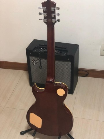 Guitarra Sx Les Paul Tobacco - das antigas - Foto 3
