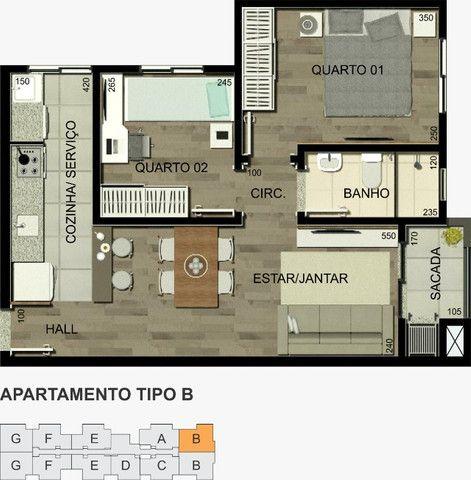 Residencial Alexandria 1 quarto - Foto 8