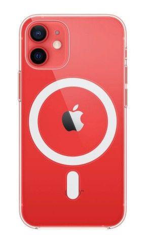 Capa MagSafe IPhone 12 Mini transparente - Foto 4