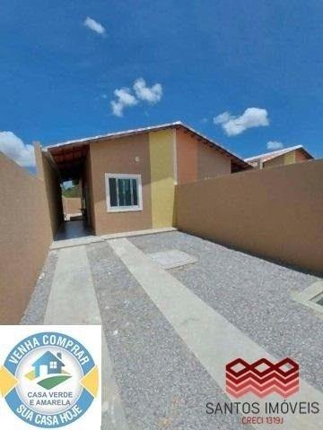 WG Casa Popular entrada a partir de 2.000*, 2 quartos, 1 banheiro social, Garagem. - Foto 3