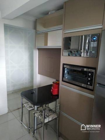 Lindo apartamento mobiliado à venda no centro de Cianorte! - Foto 7