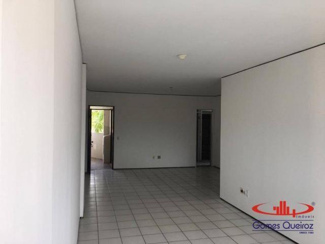 Apartamento com 3 dormitórios para alugar, 129 m² por R$ 1.400/mês - Dionisio Torres - For - Foto 13