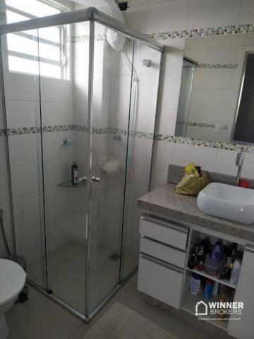 Lindo apartamento mobiliado à venda no centro de Cianorte! - Foto 11