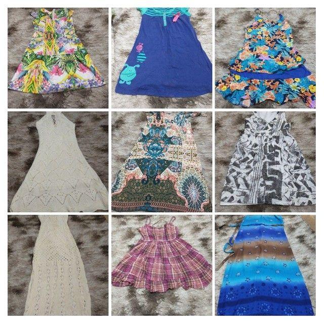 Lote de roupas 45 peças