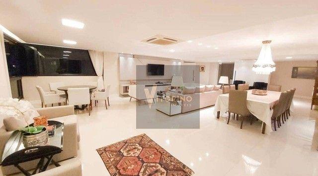 Apartamento com 3 dormitórios para alugar, 290 m² por R$ 7.000,00/mês - Manaíra - João Pes