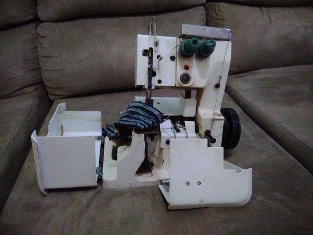 Vendo máquina de costura Galoneira usada semi industrial Bracoob - Foto 2