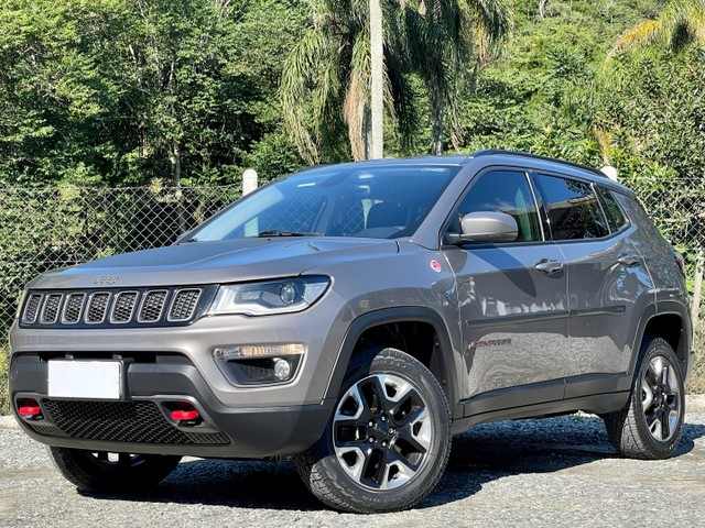 Jeep Compass TrailHawk 2.0 Diesel 4x4 2017 Baixo Km