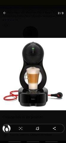 Cafeteira Nescafé Moulinex Dolce Gusto Lumio Automática Preta Para Cápsulas Monodose 110v - Foto 2