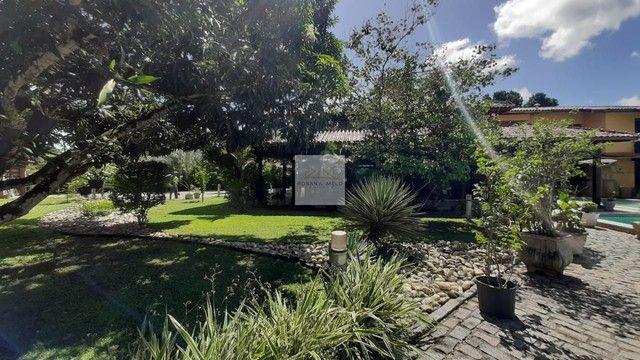Mansão no Cond Torquato de castro aldeia/598m/ 4 suites/espaço gourmet com piscina/luxo - Foto 6