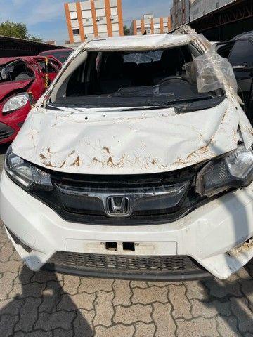 - Sucata Honda Fit EXL CVT 2015 ( venda em peças )