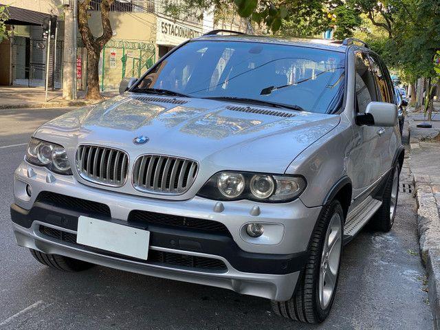 BMW X5 4.4 SPORT  TOP V8 ÚNICO DONO - Foto 2