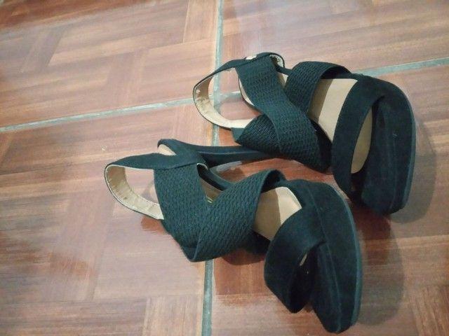 Sandálias de salto  - Foto 3