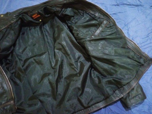 Jaqueta em couro legítimo - Foto 5