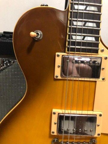 Guitarra Sx Les Paul Tobacco - das antigas - Foto 2