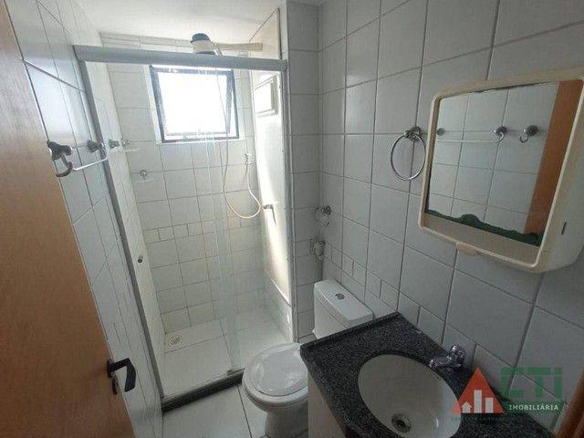 Apartamento com 2 dormitórios para alugar, 56 m² por R$ 1.350,00/mês - Iputinga - Recife/P - Foto 15
