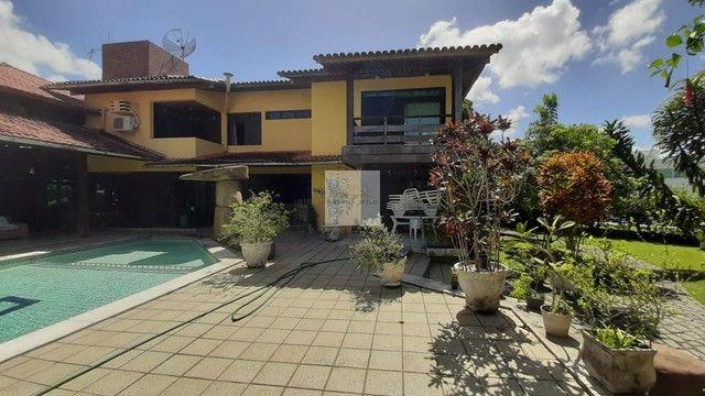 Mansão no Cond Torquato de castro aldeia/598m/ 4 suites/espaço gourmet com piscina/luxo - Foto 16