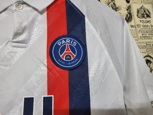 Camisa PSG 2019/20 Qualidade Original Importada - Foto 2