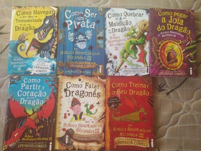 Vendo Livros da série COMO TREINAR O SEU DRAGÃO