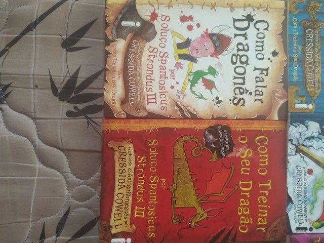 Vendo Livros da série COMO TREINAR O SEU DRAGÃO - Foto 4