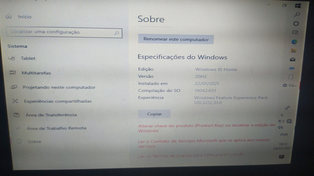 Vendo ou troco  netbook windows 10 troco em tablet  - Foto 5