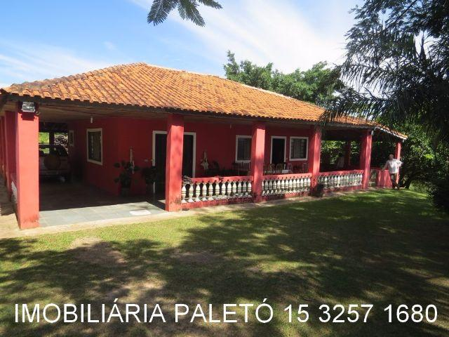 Chácara 10000 m², muitas frutas, jardim, árvores - Imobiliária Paletó REF 348
